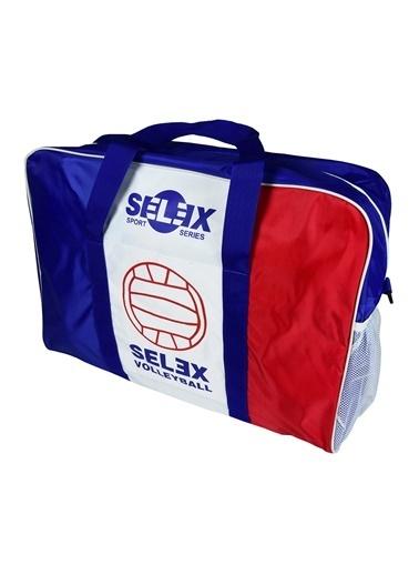 Selex Selex Askılı 6 Top Kapasiteli Çok Renkli Voleybol Çantası Renkli